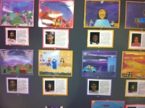Samples from the AC12 Art Exhibit